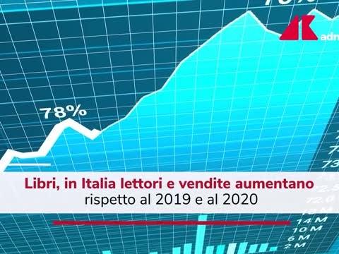 Libri, in Italia si legge di più: vendite salite in due anni