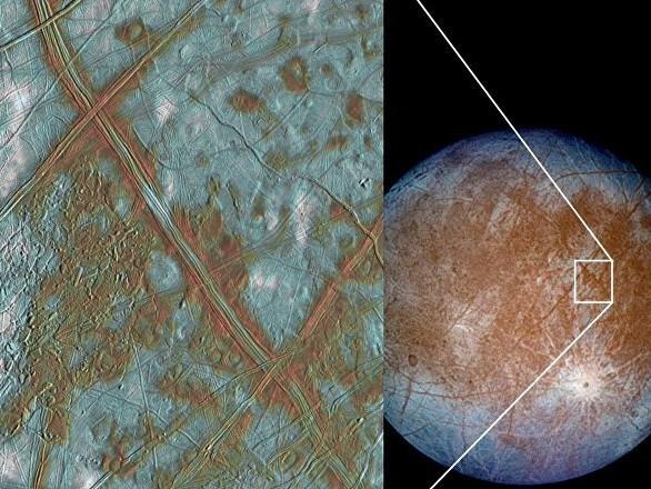 NASA conferma presenza vapore acqueo sulla luna di Giove, Europa