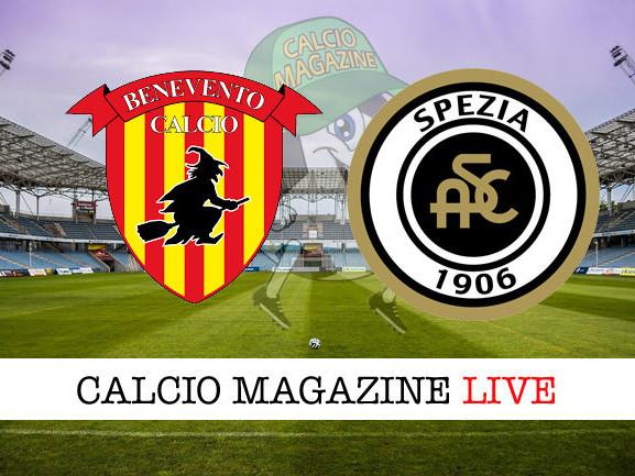 Spezia – Benevento: cronaca diretta live, risultato in tempo reale