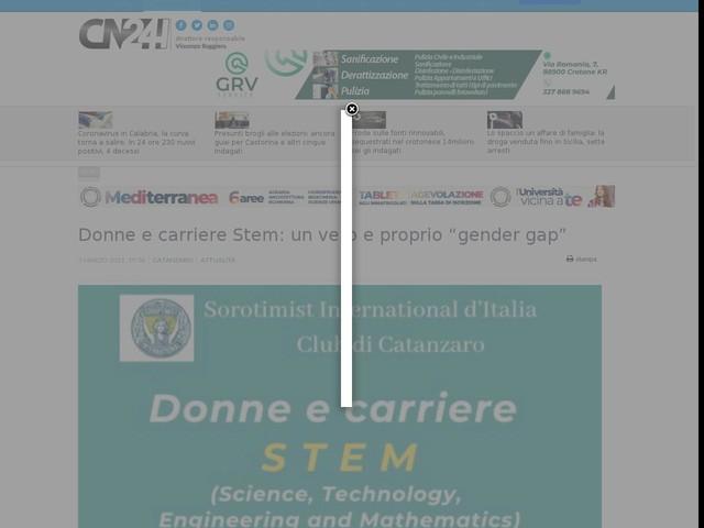 """Donne e carriere Stem: un vero e proprio """"gender gap"""""""