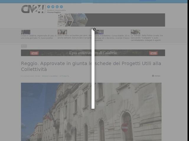 Reggio. Approvate in giunta le schede dei Progetti Utili alla Collettività