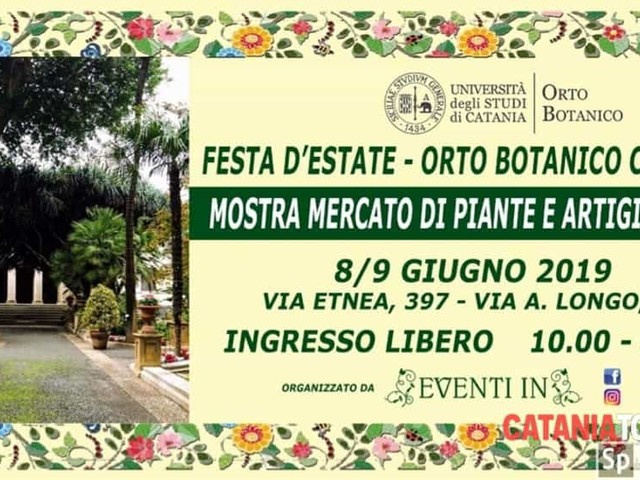 Festa d'estate - Orto Botanico di Catania