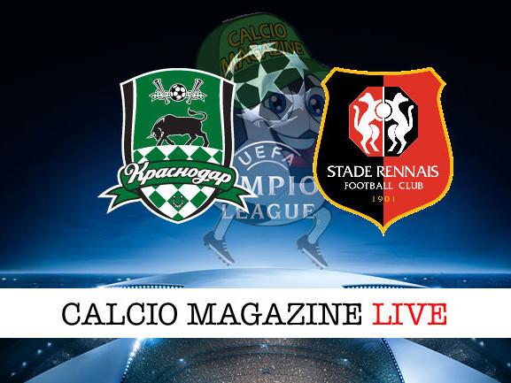 Krasnodar – Rennes 1-0: diretta live, risultato in tempo reale