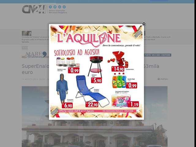 SuperEnalotto: in provincia di Catanzaro un 5 da 63mila euro