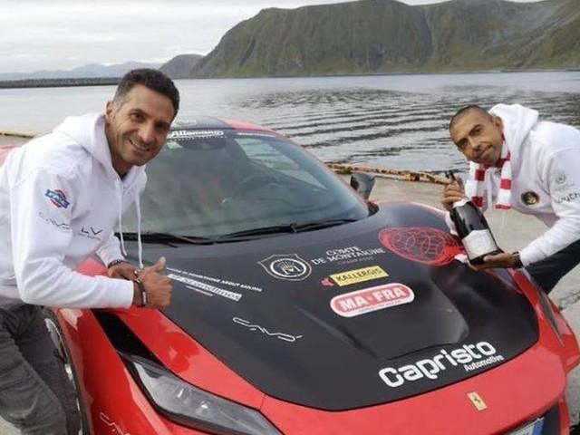 Da Roma a Capo Nord in 45 ore: Fabio Barone batte Google Maps e conquista il World Record
