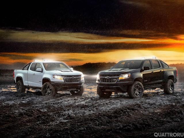 Chevrolet Colorado ZR2 - Le serie speciali Midnight Edition e Dusk Edition