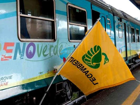 Treno Verde 2019: viaggio in 12 tappe nell'Italia dello smog, per una mobilità a zero emissioni