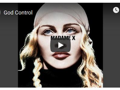 Madonna, God control è il nuovo singolo (testo, traduzione e audio)