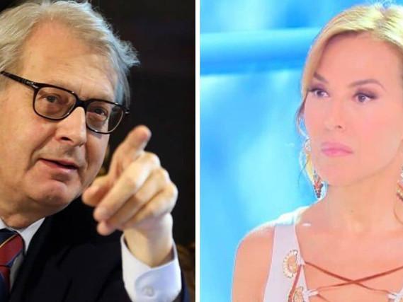 """Vittorio Sgarbi: """"Barbara d'Urso, scusa!"""", ecco la lettera del perdono"""