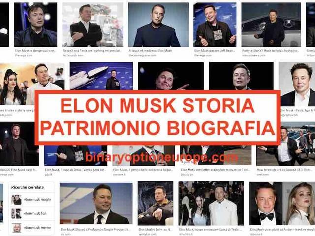 Elon Musk patrimonio: biografia tra moglie, figli e il sogno Marte [2021]