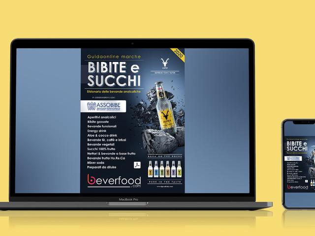 Nuova GuidaOnline Marche Bibite e Succhi 2020: download gratuito dal portale Beverfood.com