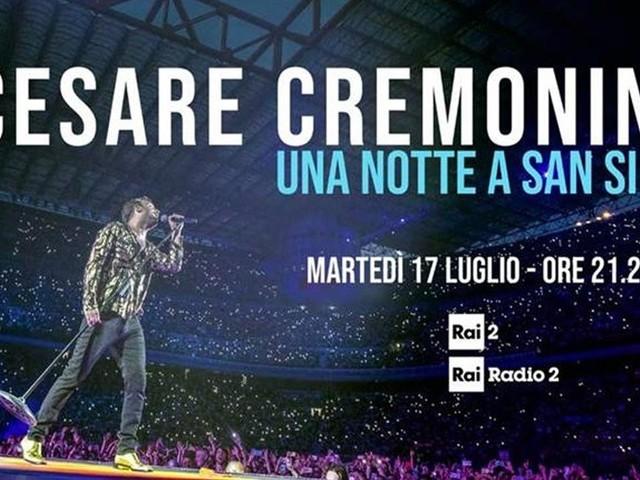 Cesare Cremonini – una notte a San Siro, stasera su Rai 2: anticipazioni e scaletta