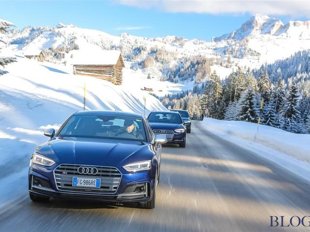 ***Audi: con la gamma S in Val Gardena e Badia