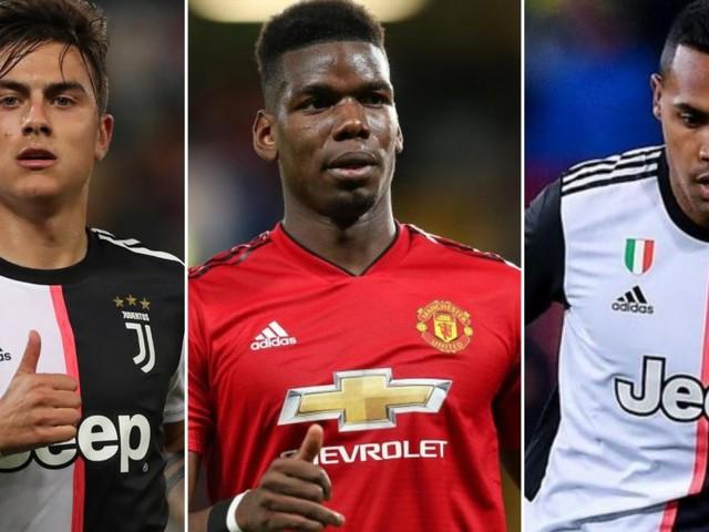 La Juve potrebbe cedere Dybala e Alex Sandro allo United per avere Pogba