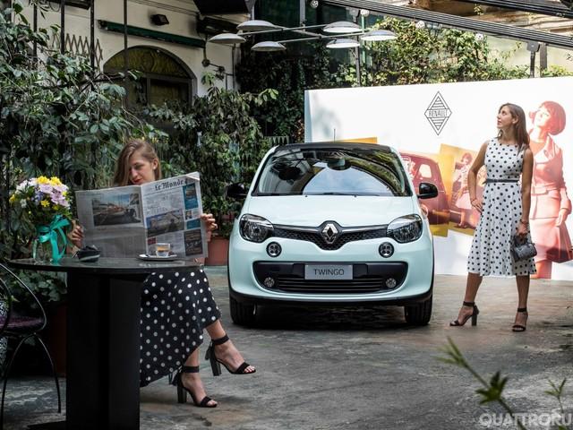 Renault Twingo La Parisienne - La piccola francese si fa chic