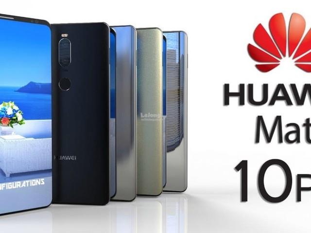 Tavolo apparecchiato per la serie Huawei Mate 10 con EMUI 10: beta in Europa e requisiti