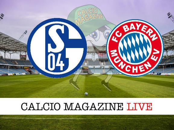 Schalke 04 – Bayern Monaco: diretta live e risultato in tempo reale