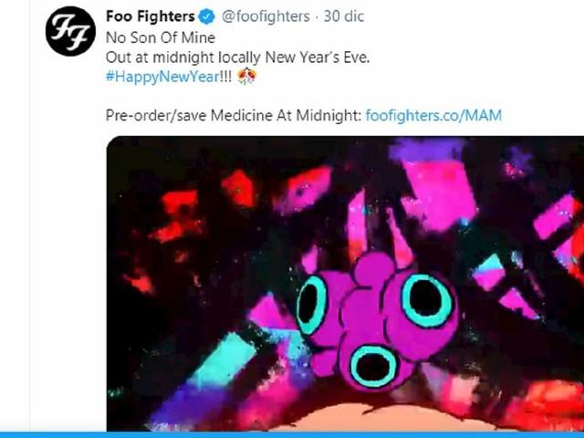 """Foo Fighters, ecco il nuovo singolo """"No Son Of Mine"""" VIDEO. Il 5 febbraio il nuovo album """"Medicine At Midnight"""""""