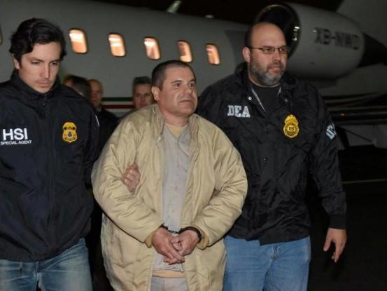 La fine del Chapo: ergastolo e multa per 13 miliardi