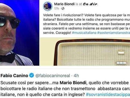 Mario Biondi: «Boicottate le radio che trasmettono musica straniera». Insulti social: «Ma non canti in inglese?»