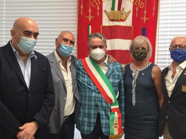 Rotary, il governatore del distretto 2090 Gioacchino Minelli a Tolentino