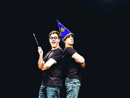 """Arriva a Trento """"Potted Potter"""""""