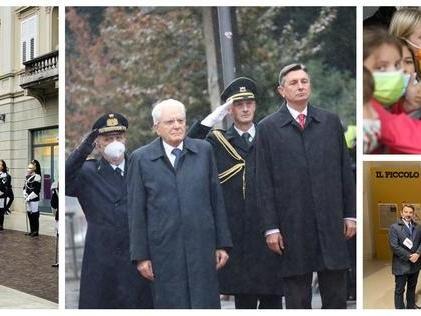 È l'ora di Mattarella e Pahor a Gorizia e Nova Gorica: la cronaca della giornata