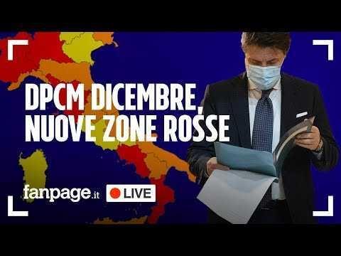 Nuovo Dpcm di dicembre, nuove zone rosse e vaccino: gli aggiornamenti e tutte le notizie di oggi