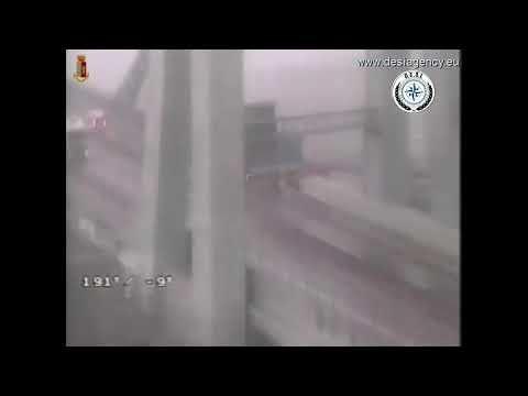Manomesso il video sul crollo del ponte Morandi. La conferma VIDEO