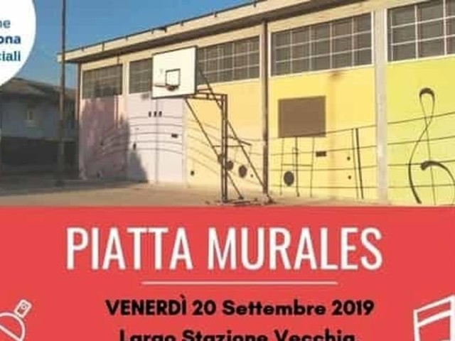 """A Parona la manifestazione aperta a tutti """"Piatta murales"""""""