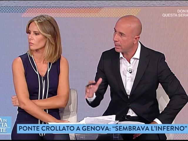 """La Vita in Diretta Estate su Genova, Semprini: """"Siamo political-free, parliamo solo di fatti"""""""