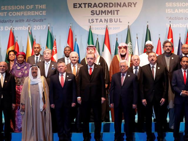 Il fronte islamico si compatta per Gerusalemme est capitale della Palestina, guidato da Erdogan