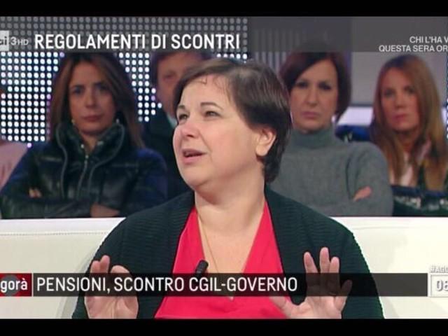 Scacchetti (Cgil), sulle pensioni serve giustizia sociale
