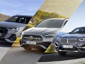 Nuova Mercedes GLA vs Audi Q3 vs BMW X1