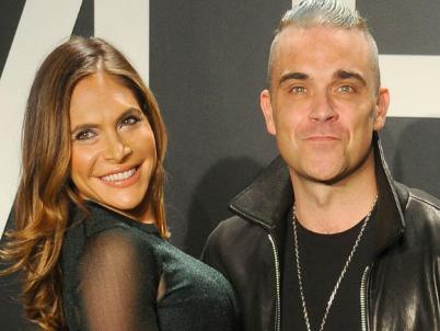 Robbie Williams sarà in un reality con la moglie Ayda Field (e la suocera Gwen)