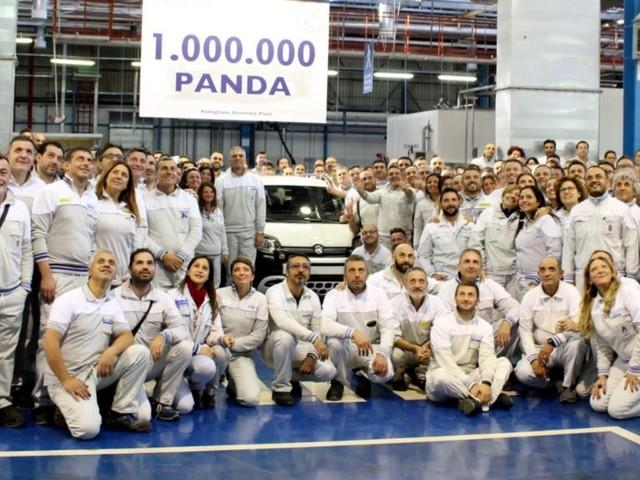 Fiat Panda - Prodotto il milionesimo esemplare