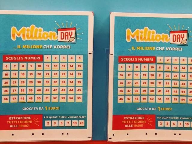 Million Day estrazione di oggi 11 Agosto, i numeri vincenti