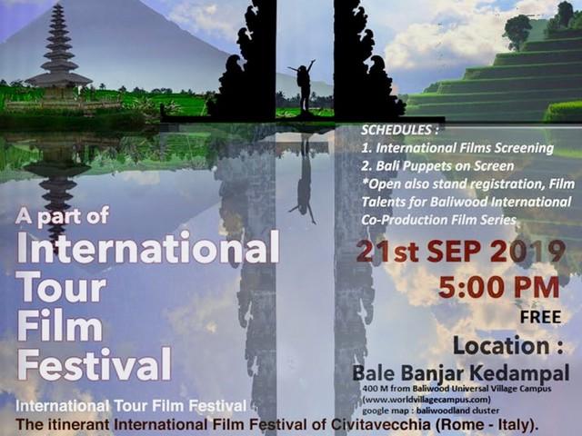 Itff sempre più internazionale: sabato farà tappa a Bali