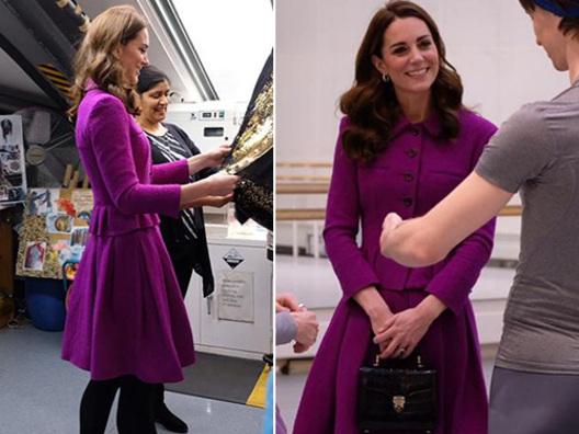 Kate e Meghan, look diversi per le due cognate