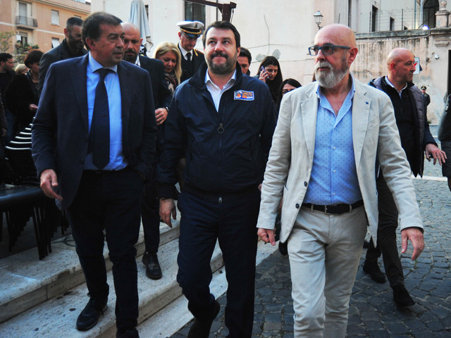 Rifiuti, Salvini: ''Civitavecchia non può essere la discarica di Roma''