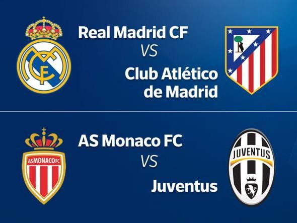 Semifinali di Champions League, la Juventus trova il Monaco