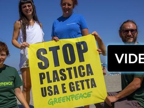 Dolcenera e Greenpeace ad Ischia contro l'inquinamento del pianeta