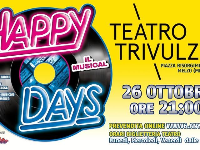 """""""Happy Days Il Musical"""" al Teatro Trivulzio di Melzo"""