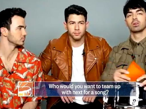 I Jonas Brothers vogliono collaborare con le Blackpink. VIDEO!
