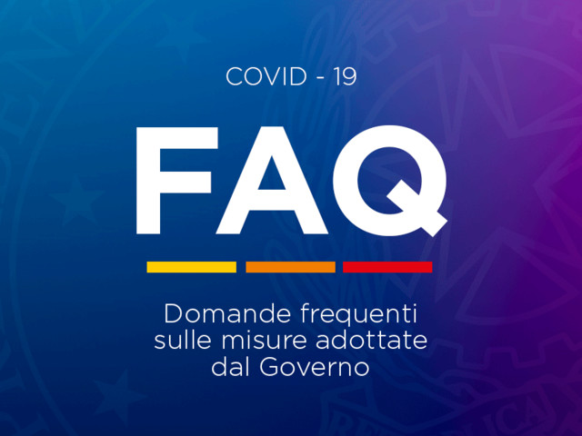 Regole Covid: nuove FAQ del Governo