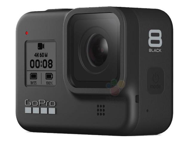 GoPro Hero 8 Black e Max: immagini e caratteristiche tecniche