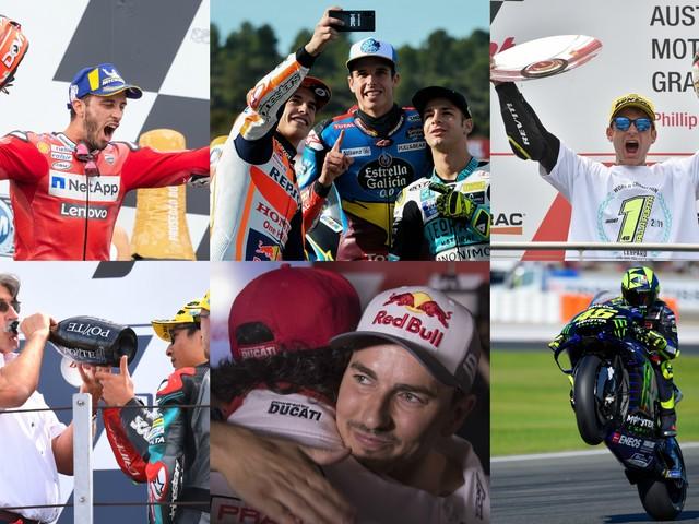 Motomondiale, dal dominio di Marquez ai 400 GP di Rossi: il film della stagione 2019. FOTO