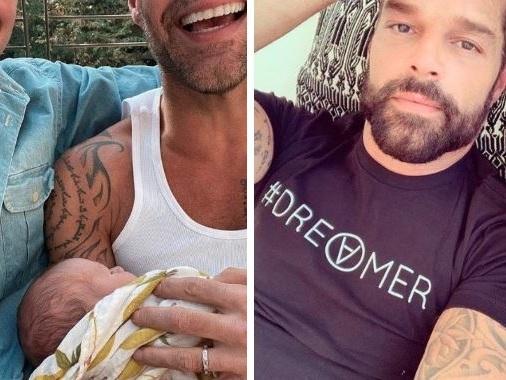 """Ricky Martin e il marito sono diventati genitori: """"Ecco nostro figlio Renn"""""""