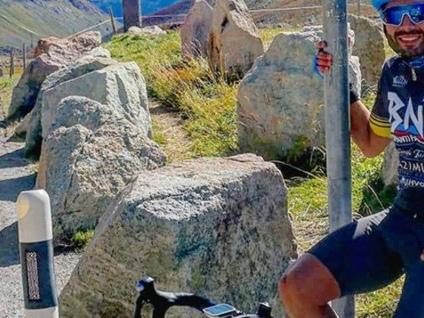 Bergamo-Taranto in bicicletta sulle orme di Nadia Toffa
