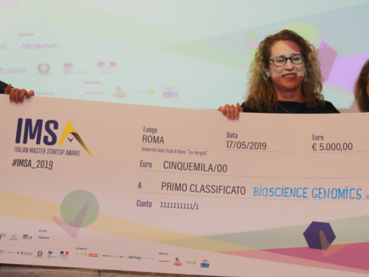 Biosciencegenomicsha vinto l'Italian startup masteraward